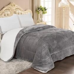 Grey 805 Κουβερτοπάπλωμα Υπέρδιπλο 220x240 Adam Home