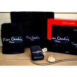 Pierre Cardin Σετ Πετσέτες Μονόχρωμες -Μαύρο- 3τμχ σε κουτί