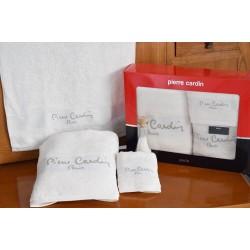 Pierre Cardin Σετ Πετσέτες Μονόχρωμες -Λευκό- 3τμχ σε κουτί